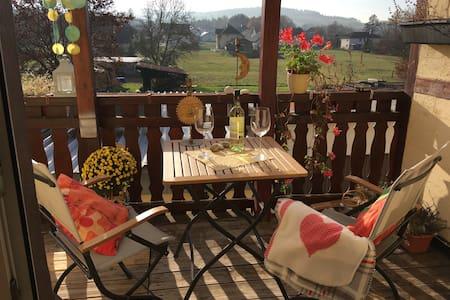 Gemütliche Wohnung, Garten, ideal für Radler