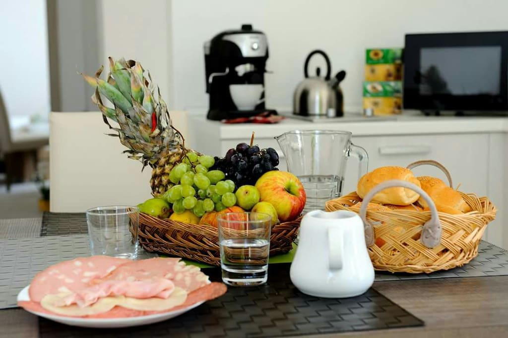 Sala colazione interna