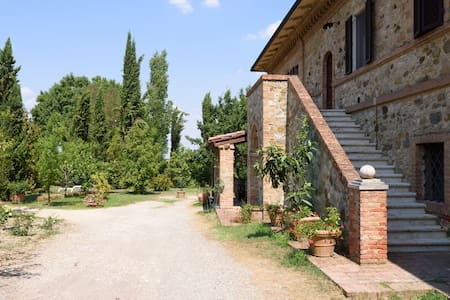 Elegant farmhouse Siena - Murlo - Appartement