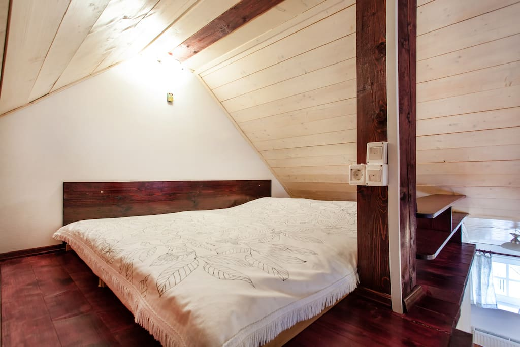 gallery double bed