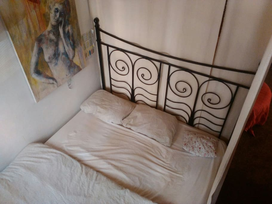 Large double bed for a perfect night's sleep