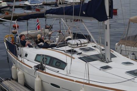 sailboat, 20 min walk to the city - Oslo