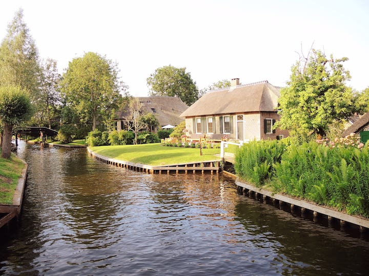 Giethoorn B&B 'tWiede (8 pers. accommodation)