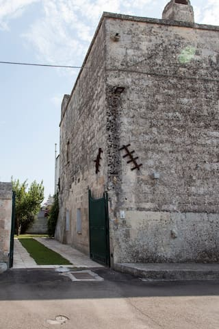 Entrance to the fortified Masseria