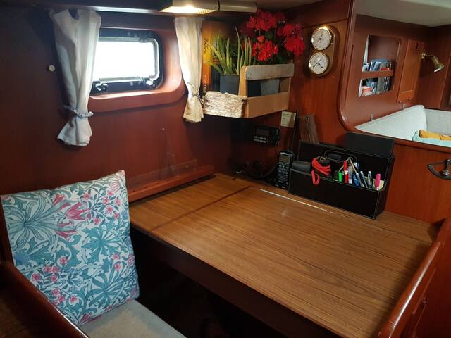 Why not work from home at a navigation table and feel like a proper captain for a change?