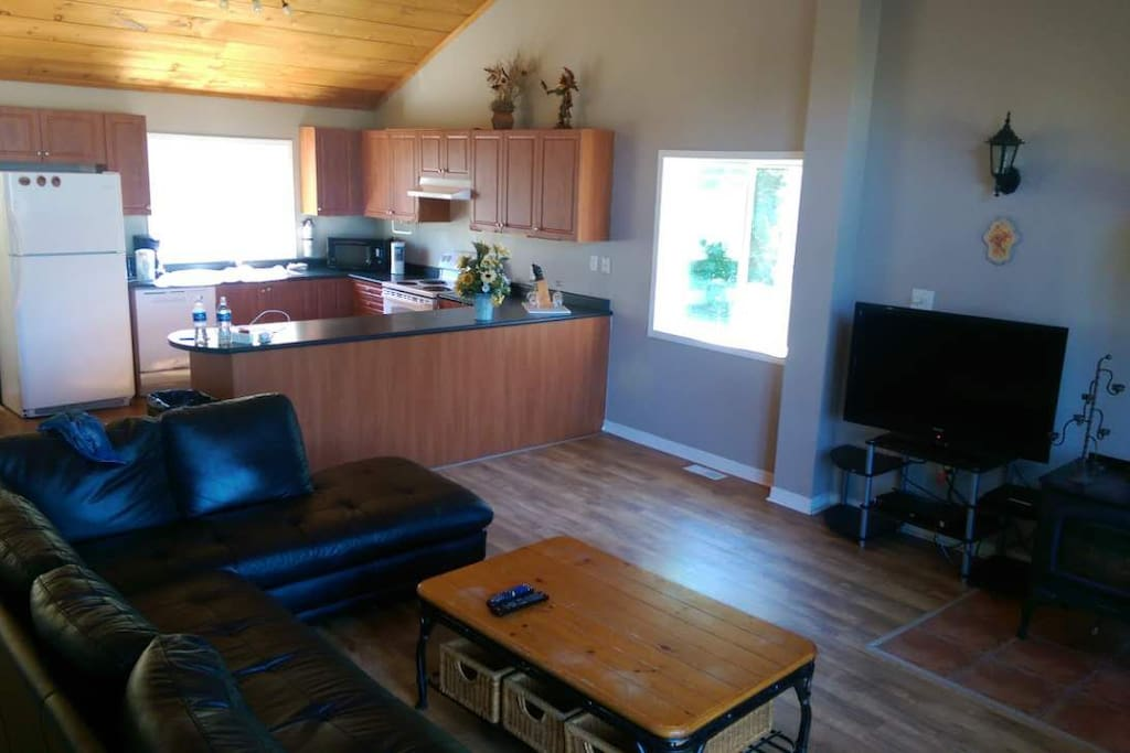 Third Floor for the Chalet with Kitchen and dinning area