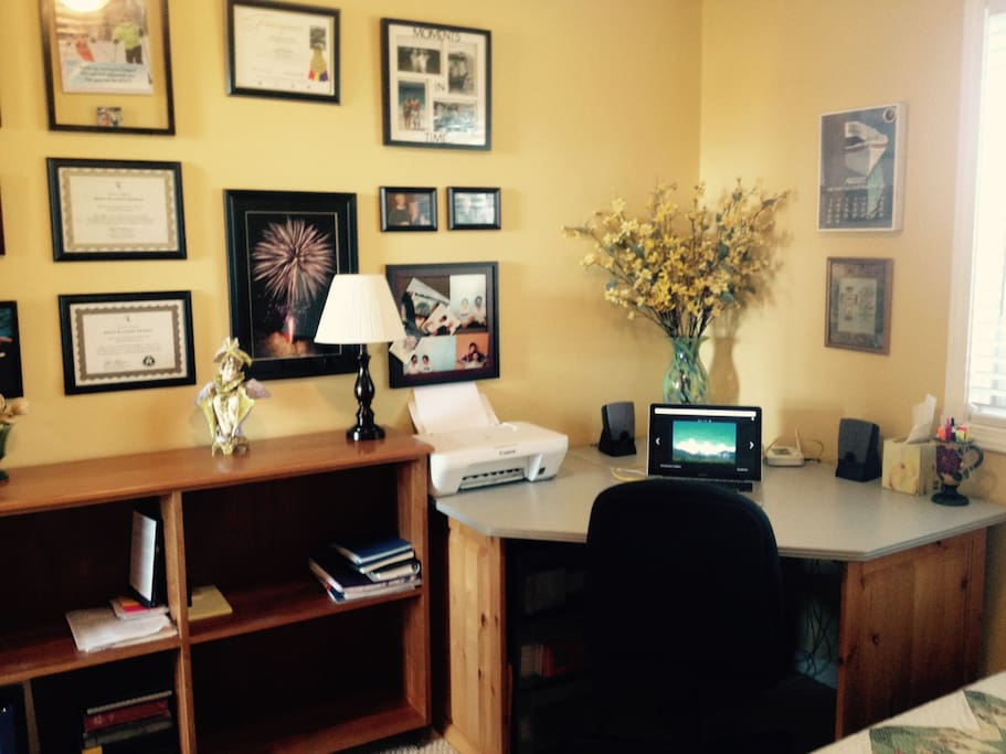 Office space is available.