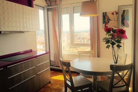 Big apartment with outstanding view - Torrelavega