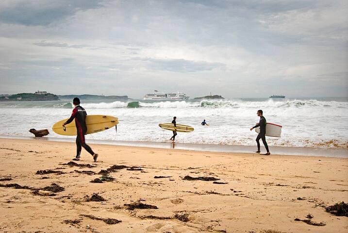 Chalet cerca de bonitas playas - Cubas (Ribamontán al Monte) - Huis