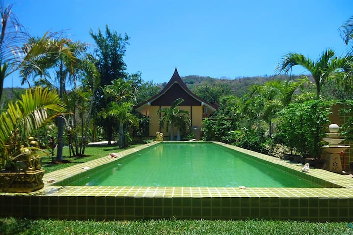 New garden-house with 18 m pool! - Hua Hin - Talo
