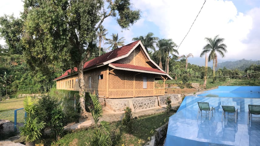 Wanayasa Farm House with Pool in Nature