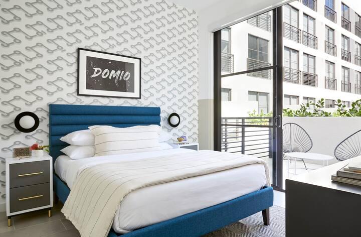 Domio Wynwood | One Bedroom Patio Suite | Laundry + Pool + Gym