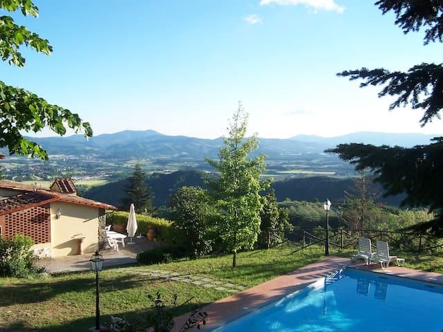 Villa autonoma - stanze con ingresso indipendente - Ponzalla - Villa