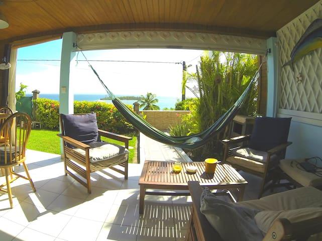 Chambre dans appart  jardin vue mer exceptionnelle