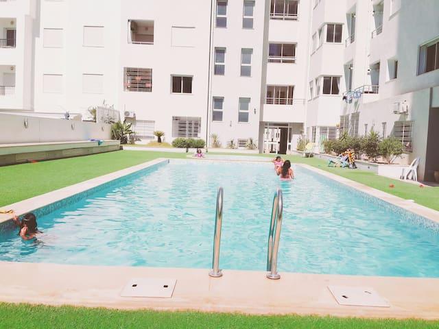 RÉSIDENCE TEJ EL BAHR - Hammamet - Wohnung