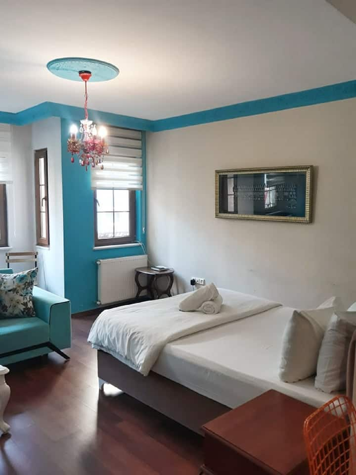 Turquoise apartment 1 saloon 1 Bedroom