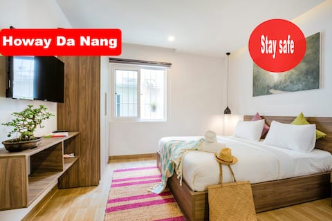 ⚡ Studio Apartment⚡ Comfort Bed ⚡5 mins to Beach