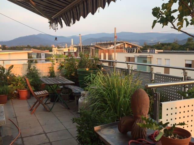 Big modern penthouse, mountainwiew - Freiburg - Huoneisto