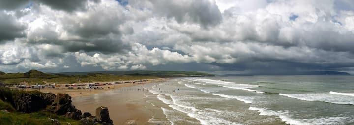 Portstewart holiday home on the Antrim coast