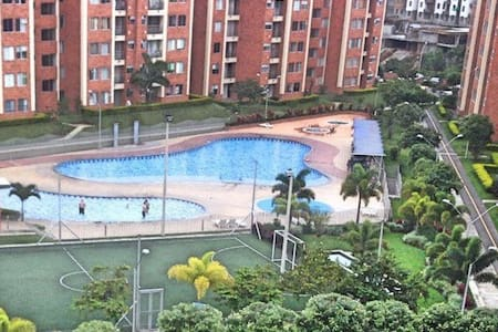 Apartment fully furnished, WiFi, pool, parking - Pereira - อพาร์ทเมนท์