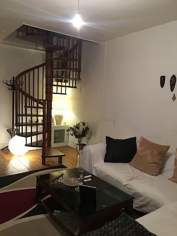 Belle chambre aux eaux vives - Genewa - Apartament