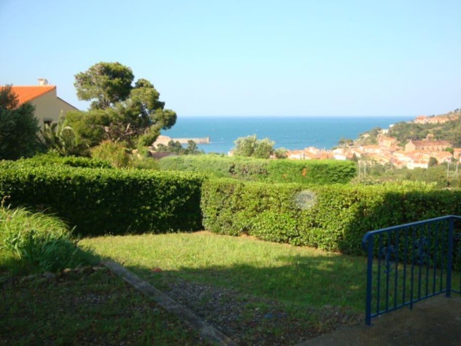 Villa 4 pieces jardin terrasse vue mer collioure villas en alquiler en collioure occitanie Villa jardin donde queda