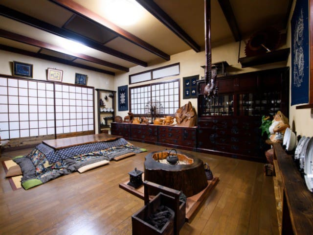 TANUKI Japanese traditional style house