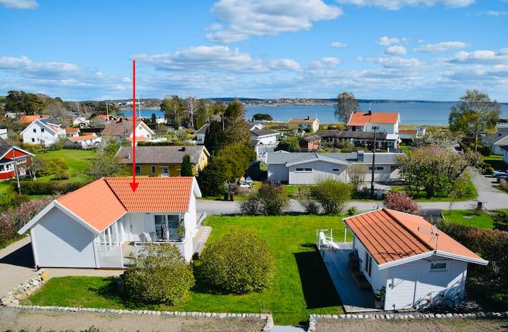 Nybyggt hus 50 kvm vid hav och strand