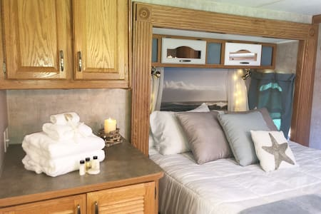Glamping on the Central Coast- (fully sanitized)!