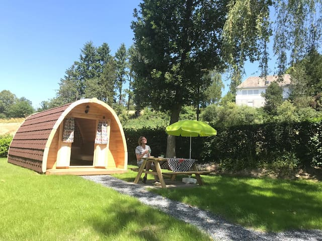 XL Pod for 2-4 persons close to the barrier lake
