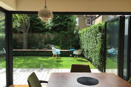Boutique garden flat in London
