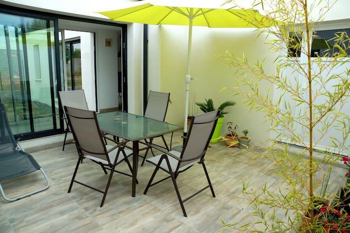 Chambre avec patio - Château-d'Olonne - Hus