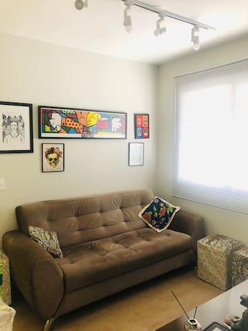 Confortável e moderno