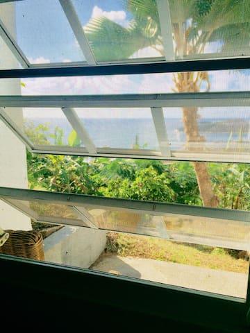 Amazing St. Barths views at b&b 'Petit Robinson'