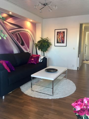 Guest room with sofa bed for 2