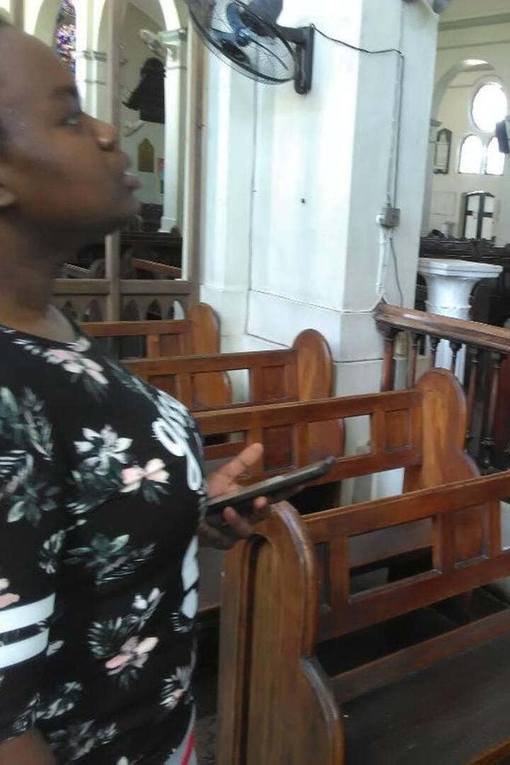 Touring the Kingston Parish Church