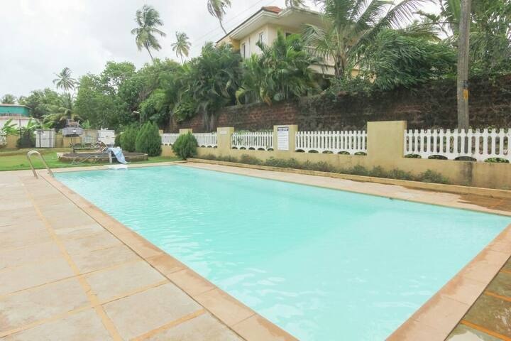 Ultra Luxurious **1 bhk**fully furnished at Baga**