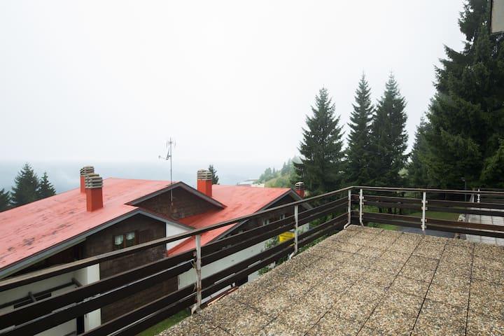 Accogliente trilocale con terrazzo panoramico