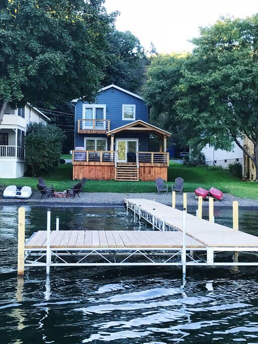 Brand new dock!