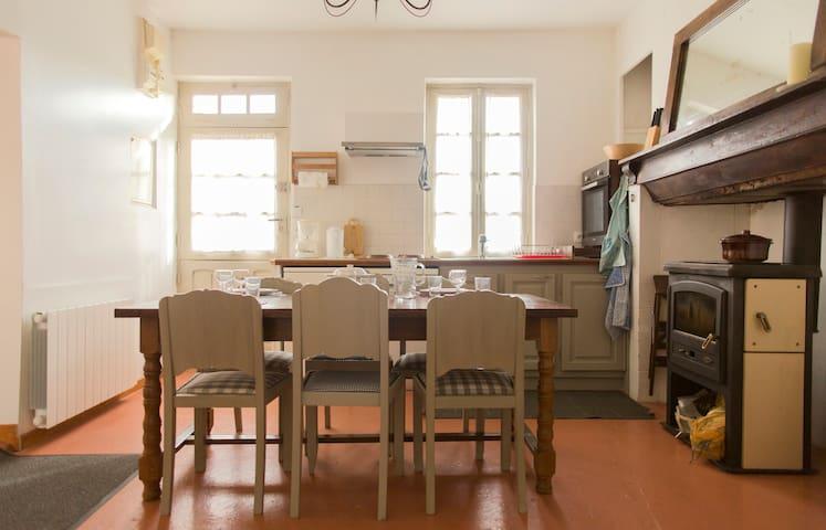 Normandie, maison pour 5 pers - Le Bec-Hellouin - Casa