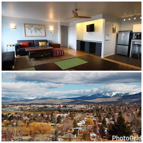 The Skyline Suite: VIEWS of Missoula & the Rockies