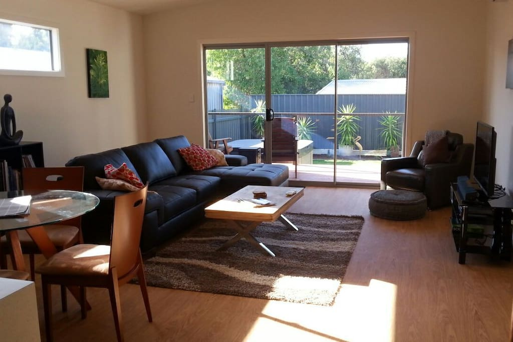 Comfortable  and large living space.