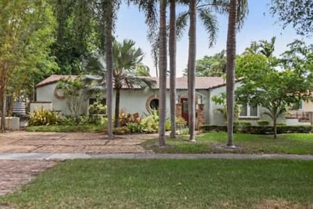 Adorable 1930s home with pool. - Miami Shores - Hus