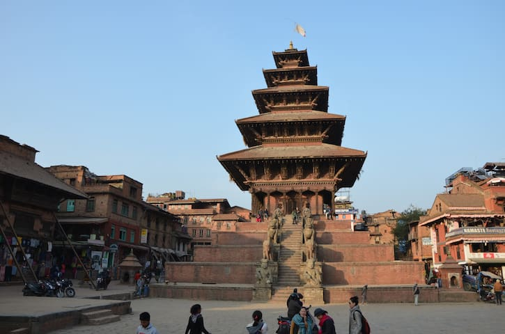 Cozy room near Hanuman Ghat and Taomadhi Square - Bhaktapur - Дом