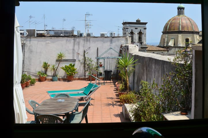 Top roof Apartment with terrace