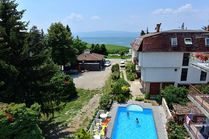Ohrid Lake View Modern Room