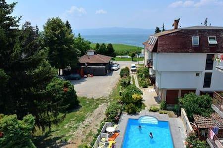 Ohrid Lake View Modern Room - Ohrid