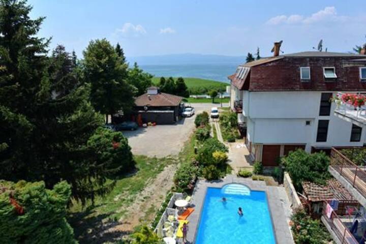 Ohrid Lake View Modern Room