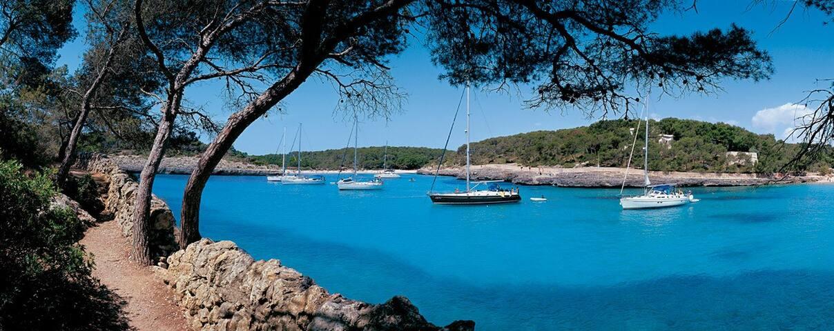 Apto. Parque Natural Cala Mondragó - Santanyi, Mallorca - Daire