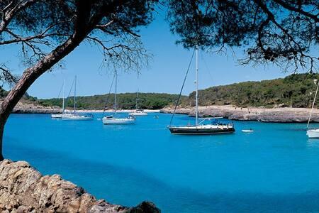 Apto. Parque Natural Cala Mondragó - Santanyi, Mallorca - Appartamento
